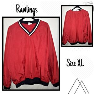 ♾Rawlings V-neck pullover